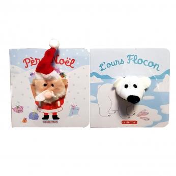 Coffret Bébêtes Père Noël et L'ours Flocon