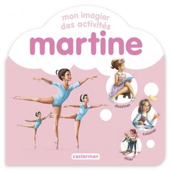 Mon imagier des activités Martine