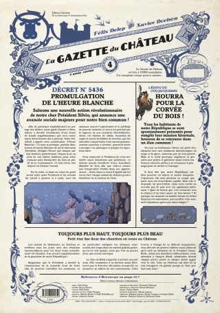 La Gazette du château - Tome 4