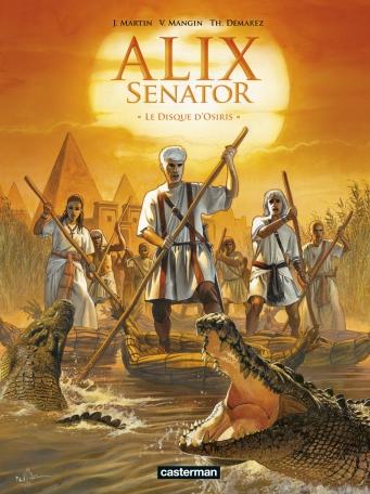 Alix Senator - Tome 12 - Le Disque d'Osiris