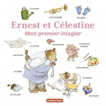 Mon premier imagier Ernest et Célestine