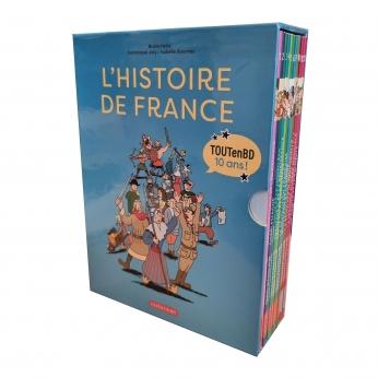 Coffret L'Histoire de France en BD - Nouvelle édition 2021