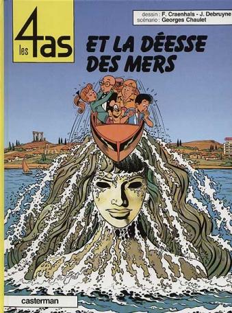 Les 4 As et la déesse des mers