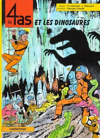 Les 4 As et les dinosaures - Tome 35