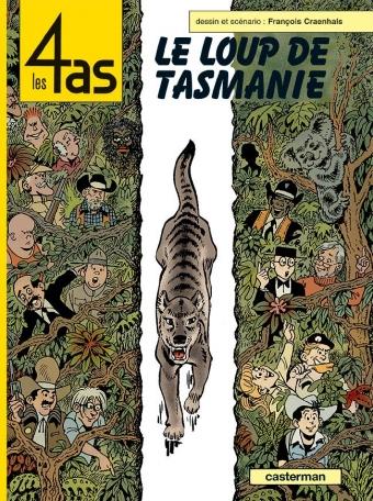 Les 4 as - Tome 40 - Le loup de Tasmanie