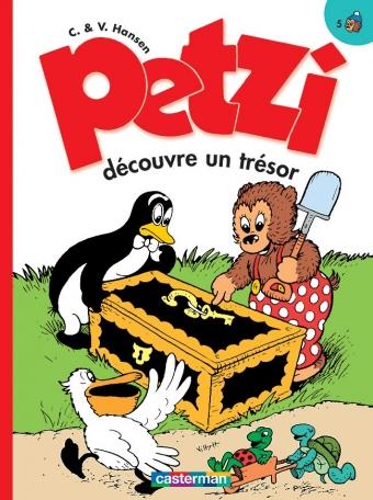 Petzi découvre un trésor