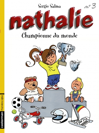 Nathalie - Tome 3 - Championne du monde