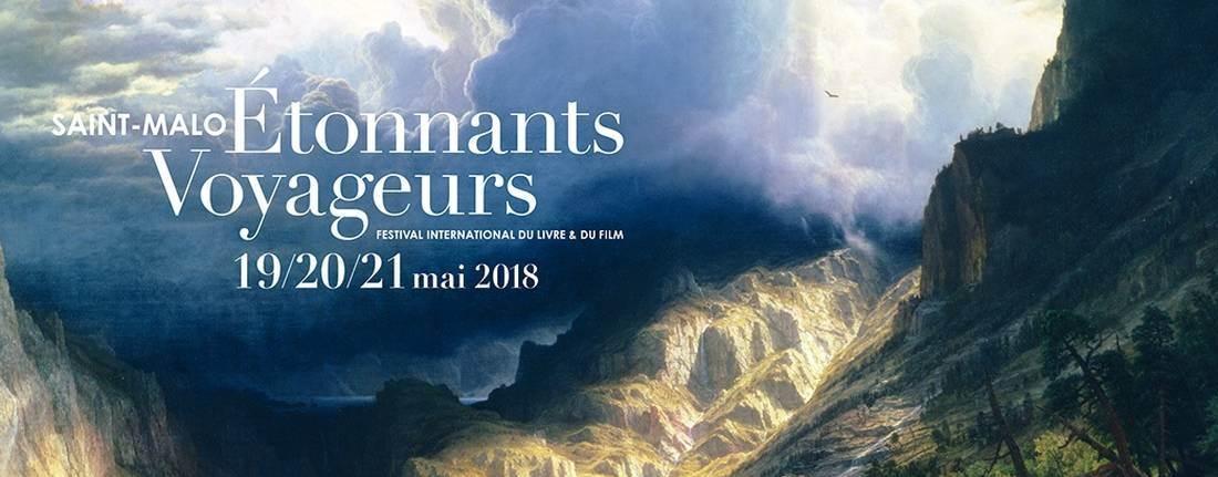 Affiche du festival Étonnants Voyageurs