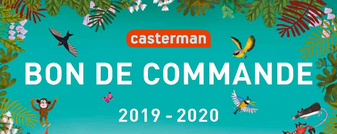 Bon de commande livres Casterman 2019-2020